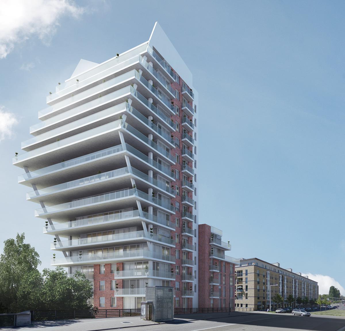 Neubau Wohn- und Geschäftshaus Rauchstr. 32–33